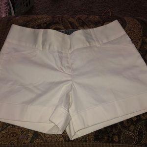 Express Design Studio white shorts
